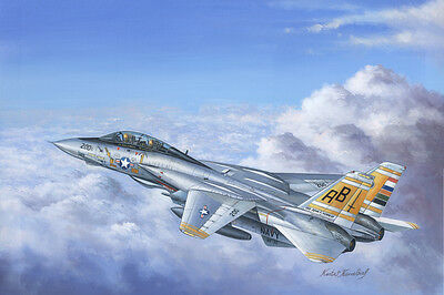 HobbyBoss 80366 1/48 F-14A Tomcat Aircraft model kit