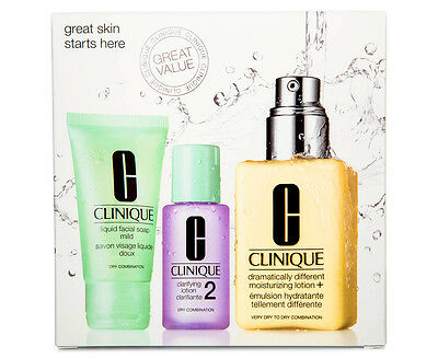Clinique Exclusive Great Skin Starts Here 2 Set