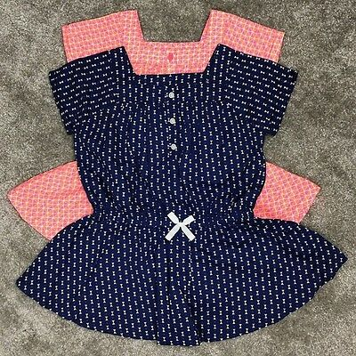 Girls Printed Woven Tops Age 3T, 4T, 5T & 6 Years