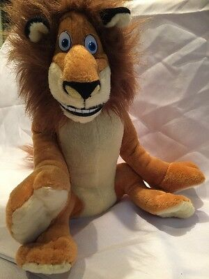 Marty The Lion Madagascar Kohl's Cares Exclusive 13 Inch Tall Stuffed Plush Doll