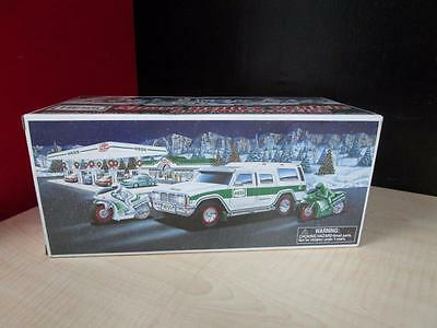 2004 Hess Truck Sport Utility Vehicle & Motorcycles ~ New in Box!