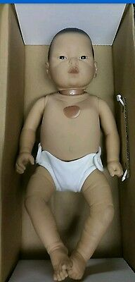RealCare Baby Think It Over Doll G6 Gen 6 Asian Male AS IS
