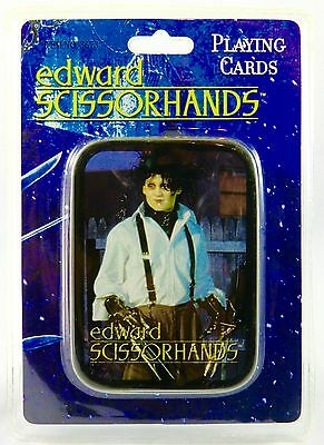 Edward Scissorhands Playing Cards w/ Tin, Johnny Depp, *New, Free Ship*