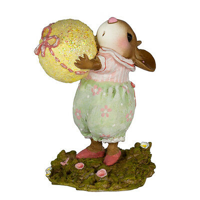 AWESOME EGG! by Wee Forest Folk, WFF# M-606, New Mouse for Easter 2017