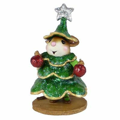 CHRIS-MOUSE TREE...LEE by Wee Forest Folk, WFF# M-545, Wee Christmas Play Series