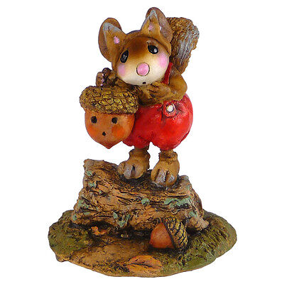BUSHY TAIL'S TRAIL by Wee Forest Folk, WFF# M-531 Halloween Squirrel Mouse