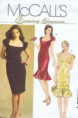 McCall's Dress Sewing Pattern 5269 Ladies Easy Dress Misses Size 4 6 8 10 12