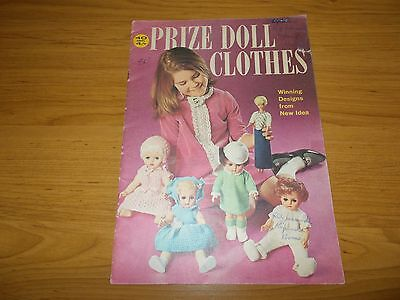 Vintage~New Idea Knitting Book~Prize Doll Clothes~14 Outfits~Barbie~Baby Doll