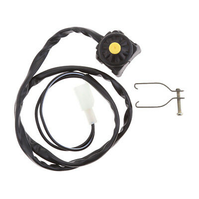 Engine Stop Start Kill Switch Button for ATV Dirt Pit Bike Quad Universal