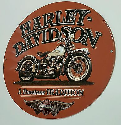 Harley-Davidson Motorcycles Signs Biker Helmet Tin Metal Man Cave Garage New 16""