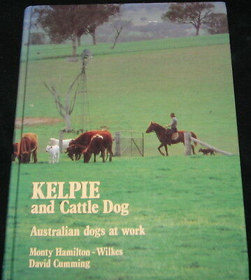 Kelpie And Cattle Dog Australian Dogs At Work Vintage Book