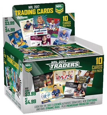 NRL 2017 Traders Trading Cards CDU of 36