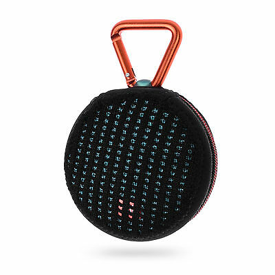 Lightning Power-Lycra Zipper Mesh Carrying Case fo JBL Clip2 Bluetooth Speaker