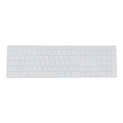 Silicone Thin Keyboard Skin Cover Protector With Numeric Keypad For Apple i K2K5