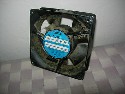 120V fans Minebea,  NMB or SUNON  119mm Sq x 38mm USED