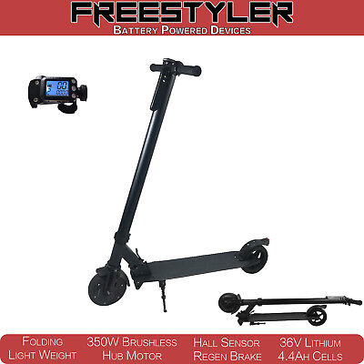 Freestyler 350W 4.4Ah Electric Scooter Folding Portable Aluminium Commuter Bike