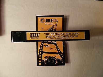 The Battle Of KHE SANH/MenWithh Green Faces Vietnam War  IHF Video VHS