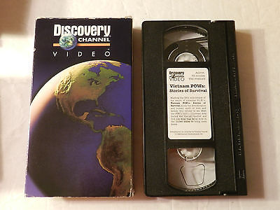 Vietnam POWs stories of survival Discovery Channel VHS