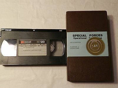 U.S. Special Forces Operational Techniques Infiltration & Operations  VHS