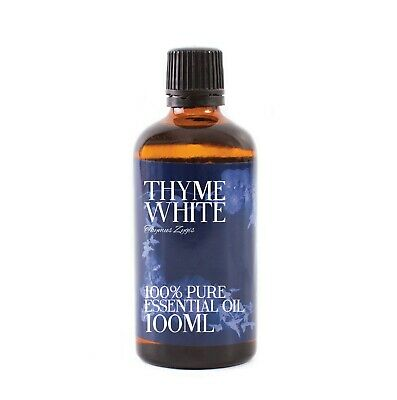Mystic Moments | Thyme White Essential Oil - 100% Pure  - 50ml (EO50THYMWHIT)