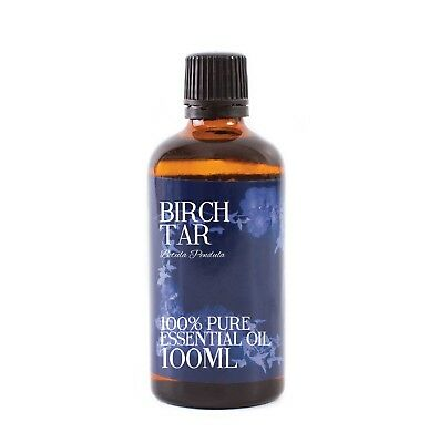 Mystic Moments | Birch Tar - Essential Oil - 100% Pure - 100ml (EO100BIRCTAR)