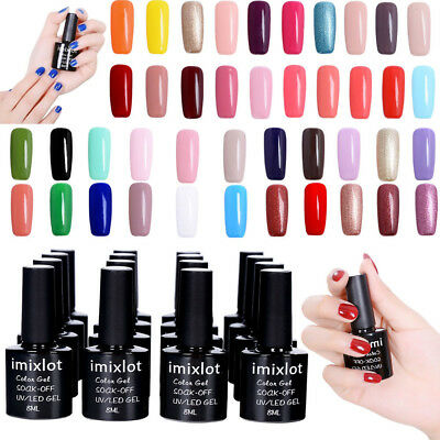 8 ML Vernis à Ongles Gel Polish Nails UV LED Semi Permanent Manucure imixlot@