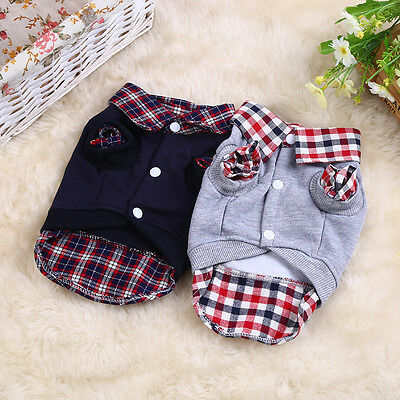 Pet Dog Winter Coat Sweater Clothes Puppy Cat Warm Knitwear Costume Jumper New