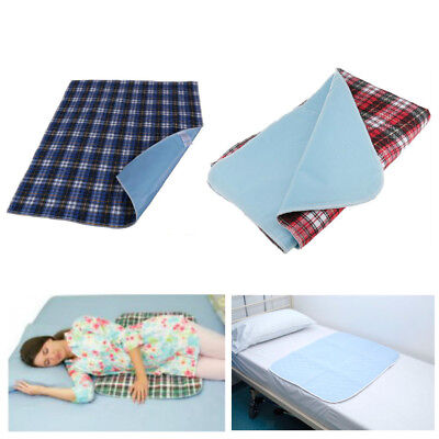 Waterproof Mattress Sheet Protector Bed Pad Cover Absorb Adults Children Kid