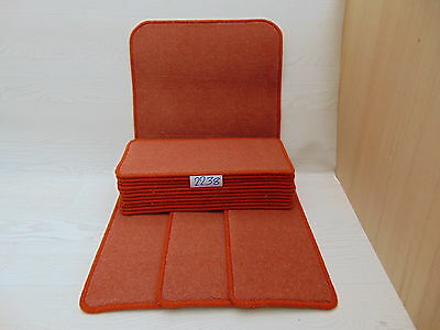 Carpet Stair pads /treads 50 cm x 23 cm 14 off and 1 m x 50 cm 1 Big Mats 2238-2