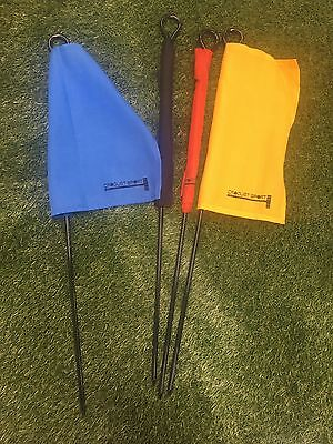 Set Of Flags For Croquet