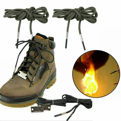 Sport Firecord Shoelaces Fire Tinder Climbing Camping Survival Equipment WHISM
