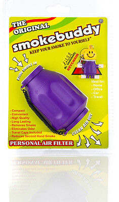 Smoke buddy Original Purple Personal Air Odor Cleaner Filter Purifier