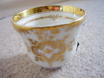 Antique KPM Dresden German porcelain cabinet cup