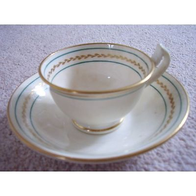 Collectable Antique England porcelain cabinet cup and saucer