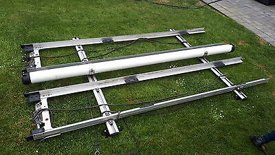 Transit Swb Roof Rack With Pipe Carrier And Fixing Kit