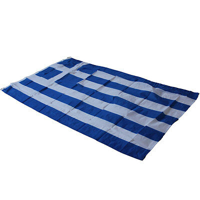5x3 Greece Greek SuperPoly Flag 5'x3' House Banner Greece country State Flag