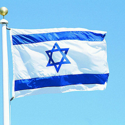 3x5 FT ISRAEL National FLAG Jewish Star Magen David Israeli Country Banner New