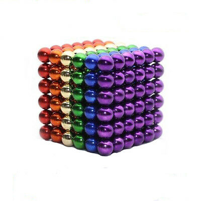 3/5mm 216pcs Neodymium Magnet Balls Magic Cube 3D Puzzle Ball Fidget Anti Stress