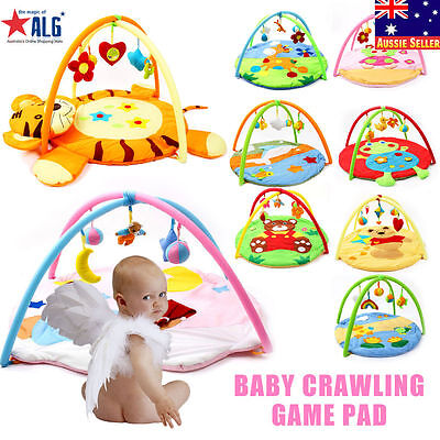 Soft Baby Play Mats Toddler Gym Blanket Indoor Outdoor Portable Crawling Mat Toy