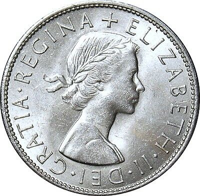 1965. Elizabeth II, Half-crown, Uncirculated.