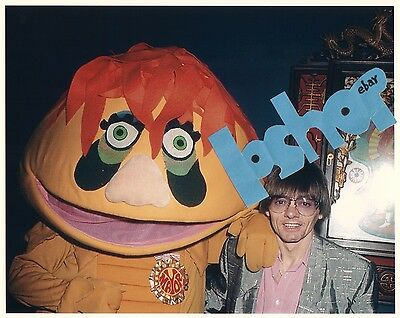 Rare H.R. PUFNSTUF Reunion Jimmy JACK WILD Photo SID & MARTY KROFFT TV Show
