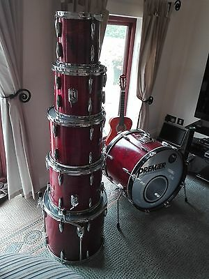 One owner from new Premier Royale 6 piece drum kit.