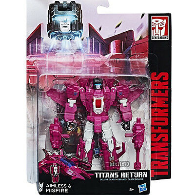 Hasbro Transformers Titans Return W3/17 Deluxe Misfire In-Stock