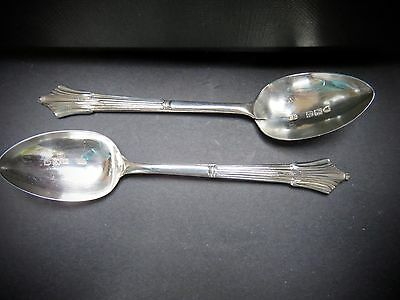 Antique Sterling Silver Spoons Hallmarked London 1896