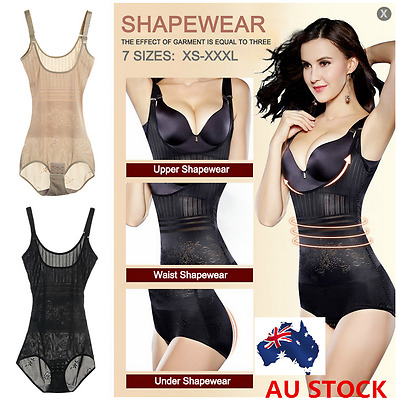 Women Plus Size Underwear Shaper Shapewear Bodysuits Corset Girdle Body Shaper