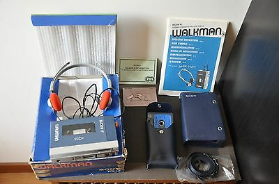 Sony Walkman Tps - L2  -  Set Completo ! Perfetto 10/10 ! Introvabile !