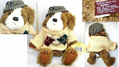 """1997 '' Augie Dog Of Friendship '' The Brass Button Collectables Plush 12 """""""