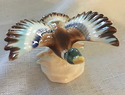 Porcelain Minature Flying Duck In Ex. Cond.