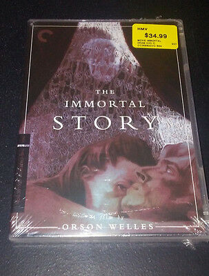 The Immortal Story (DVD, 2016, 2-Disc Set, Criterion Collection) BRAND NEW