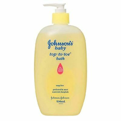 Johnson's Baby Top-To-Toe Bath | Soap Free 500ml 1 2 3 6 12 Packs
